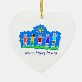 Hopewell Elementary PTA Dad Heart Ornament