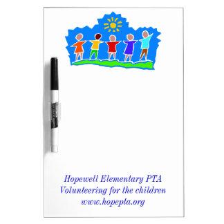 Hopewell Elementary PTA Dry Erase Board