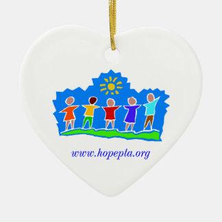 Hopewell Elementary PTA Mom Heart Ornament