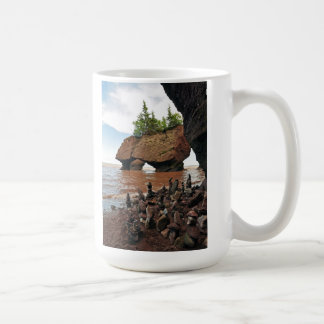 Hopewell Flowerpot Rocks Tide New Brunswick Mug