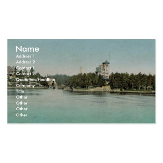 Hopewell Hall and Castle Rest Thousand Islands ra Business Cards