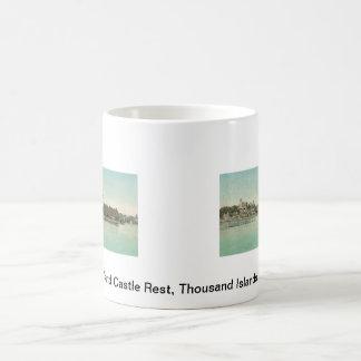 Hopewell Hall & Castle Rest Thousand Islands, NY Basic White Mug