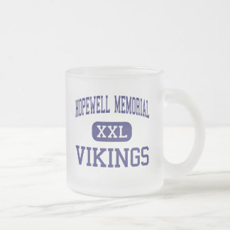 Hopewell Memorial - Vikings - Junior - Aliquippa Frosted Glass Mug