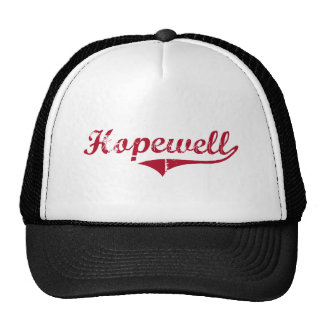 Hopewell New Jersey Classic Design Hats