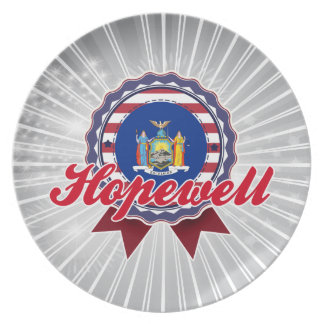 Hopewell, NY Dinner Plate