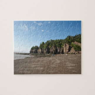 Hopewell Rocks and The Ocean Tidal Exploration Jigsaw Puzzle