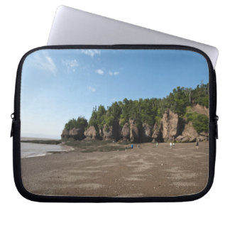 Hopewell Rocks and The Ocean Tidal Exploration Laptop Sleeve