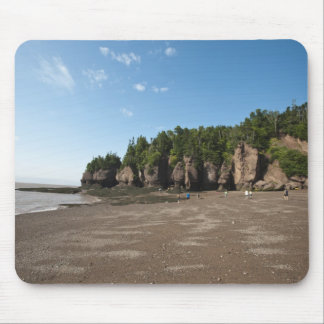 Hopewell Rocks and The Ocean Tidal Exploration Mouse Mat
