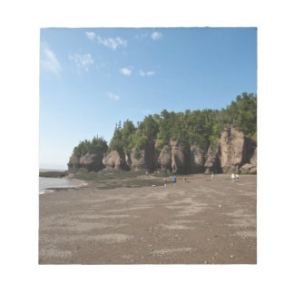 Hopewell Rocks and The Ocean Tidal Exploration Notepad