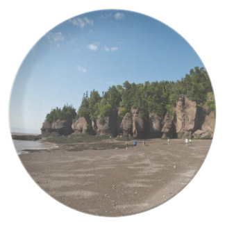 Hopewell Rocks and The Ocean Tidal Exploration Plate