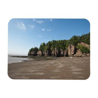 Hopewell Rocks and The Ocean Tidal Exploration Rectangular Photo Magnet