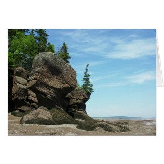 Hopewell Rocks Greeting Card