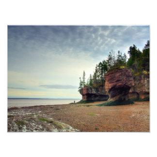 Hopewell Rocks New Brunswick Canada Photo Art