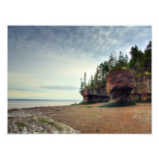 Hopewell Rocks New Brunswick Canada Photo Print
