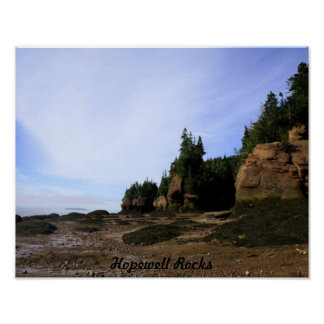 Hopewell Rocks Print