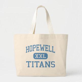 Hopewell - Titans - High - Charlotte Jumbo Tote Bag