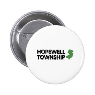 Hopewell Township New Jersey Pinback Button