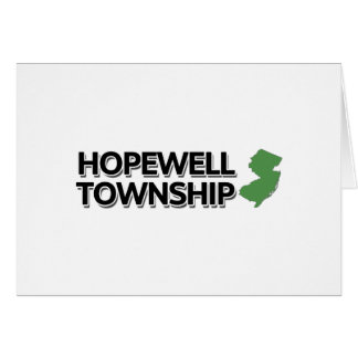 Hopewell Township, New Jersey Greeting Card