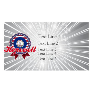 Hopewell, VA Business Card Template