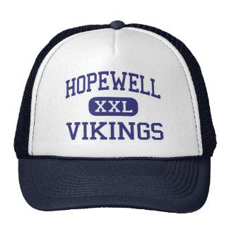 Hopewell - Vikings - High - Aliquippa Pennsylvania Trucker Hat