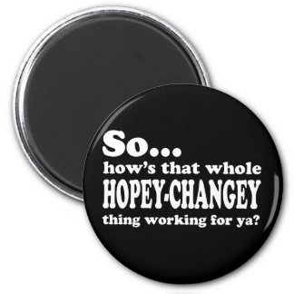 Hopey-Changey Thing 6 Cm Round Magnet
