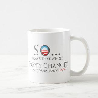 HopeyChangey2 Basic White Mug
