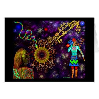 Hopi Blue Star Card