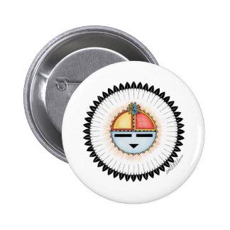 Hopi Dawa (Sun) 6 Cm Round Badge
