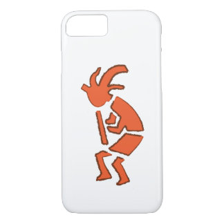 Hopi Flute Player - iPhone Case