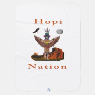 Hopi Indian Items Receiving Blanket