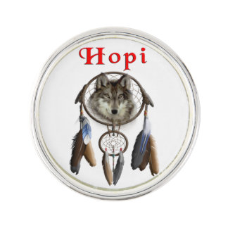 Hopi Indians Lapel Pin