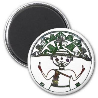HOPI Native American Folk Art Refrigerator Magnets