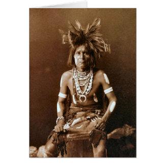 Hopi Snake Priest ca. 1900 Card
