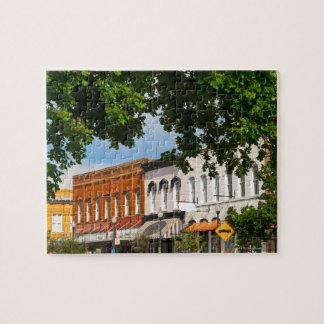 Hopkins Street facing courthouse square in Jigsaw Puzzle