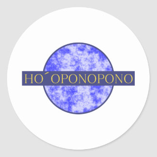 hopopono classic round sticker