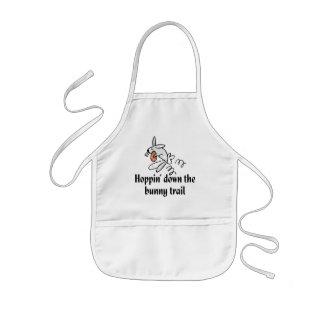 Hoppin' Down The Bunny Trail Kids' Apron