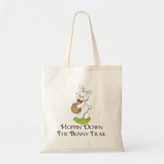 Hoppin' Down The Bunny Trail Canvas Bags