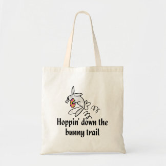 Hoppin' Down The Bunny Trail Budget Tote Bag