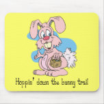 Hoppin' Down the Bunny Trail Mouse Mat