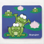 Hopping around Froggy Mousepad