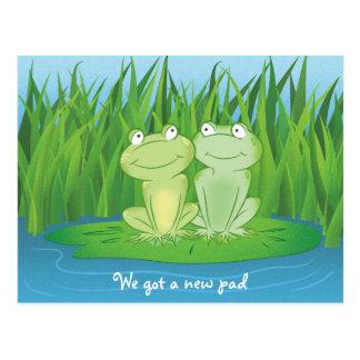 Hoppy Anniversary Postcard