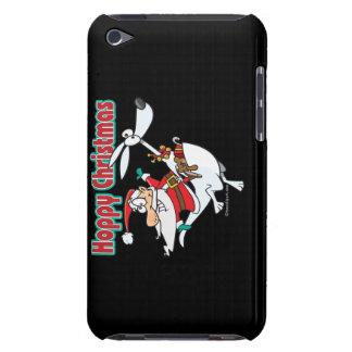 hoppy christmas santa hopping kangaroo iPod touch Case-Mate case