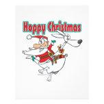 hoppy christmas santa hopping kangaroo flyer
