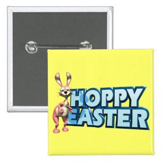 Hoppy Easter Pinback Button