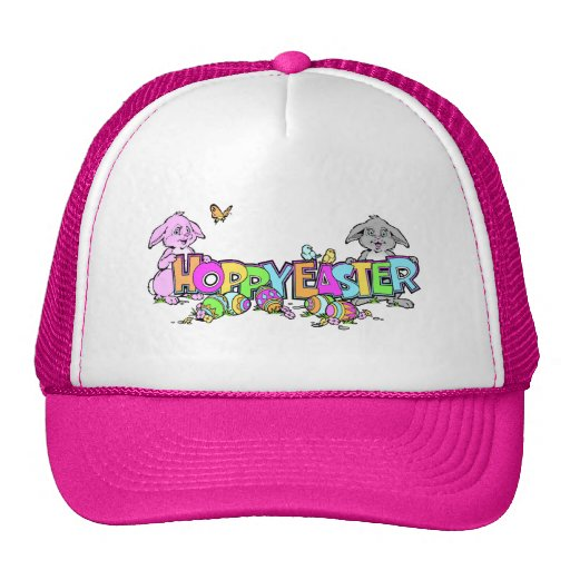 Hoppy Easter Bunnies Hats