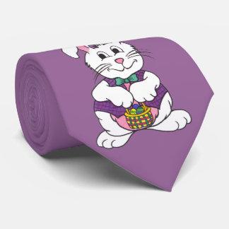 Hoppy Easter Bunny & Basket - Tie