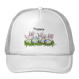 Hoppy Easter Bunny Mesh Hats