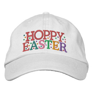 HOPPY EASTER Cap by SRF Embroidered Hats