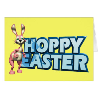 Hoppy Easter Greeting Cards