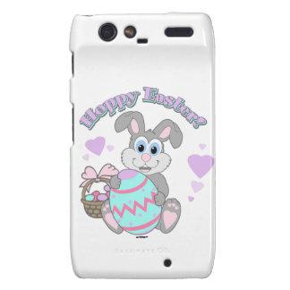 Hoppy Easter Easter Bunny Droid RAZR Cases